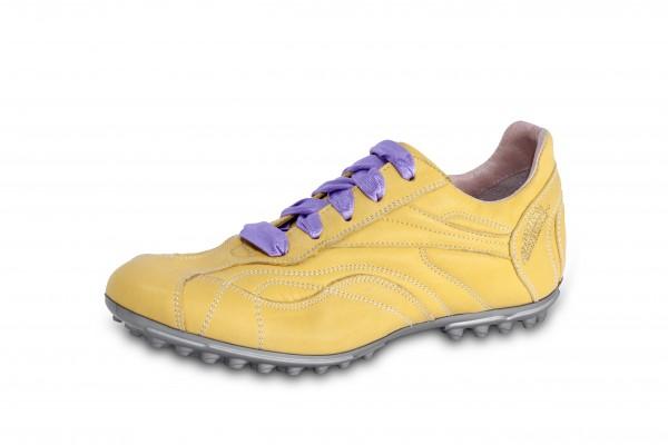Nappa giallo Sohle silber