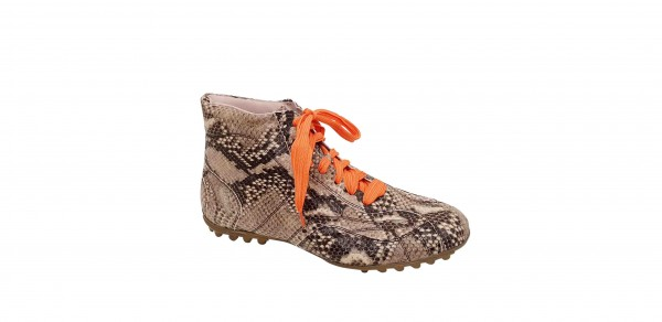 SNAKE BOOTEE BEIGE